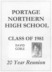 Portage Northern High School - Class of 1981 - 20 Year Reunion