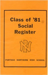 Class of '81 Social Register - Portage Northern High School
